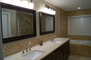 Bathroom Remodeling Bellevue Seattle Sammamish Redmond Kirkland - Bathroom remodel double sink vanity